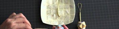 折り紙ストラップ