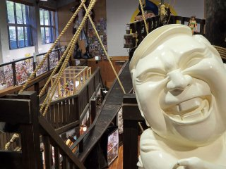 Admission to the museum is 800 yen for adults, 400 yen for elementary/Jr. high school students, and is free for children preschool age and younger.