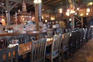 Inside Otaru Brewery