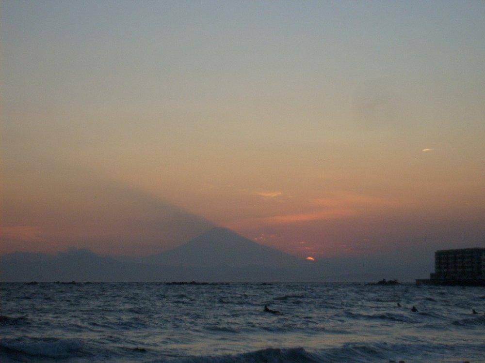 하야마 이시키의 여름 일몰