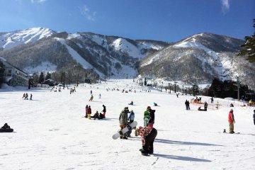 Desa Ski Hakuba di Nagano