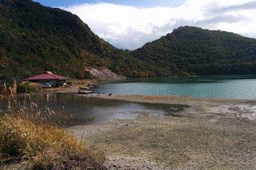 Lake of the Dragon God in Naruko