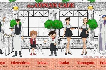 Réouverture du Café Détective Conan