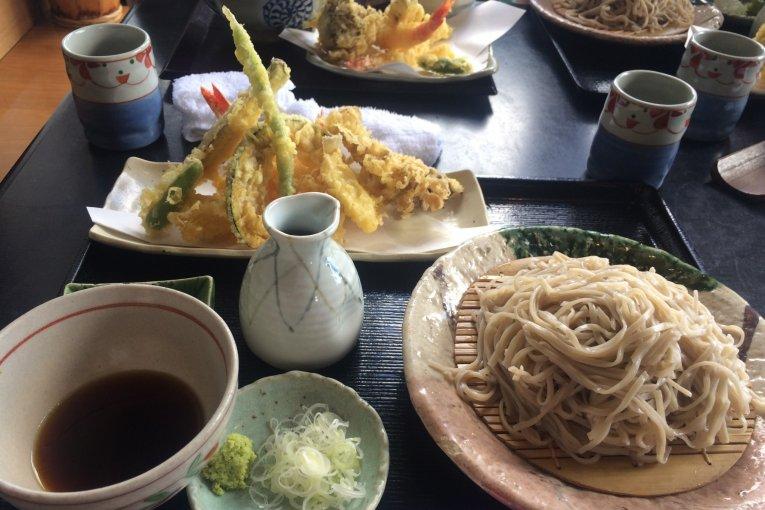 โฮมเมดโซบะใน Nihonmatsu