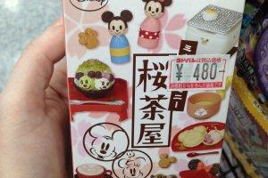 "Le set ""Salon de thé Sakura"" en collaboration avec Disney"