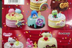 Une magnifique collection de gâteaux d'anniversaire