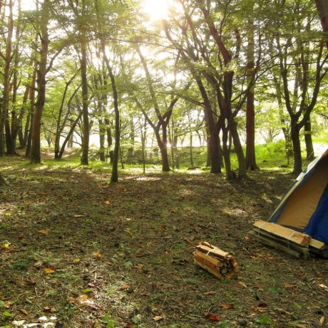 Camping at Motosuko Lake & Mt. Fuji