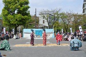 Tir à l'arc Kusajishi