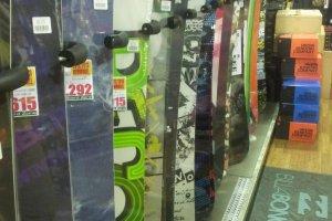 Boards galore