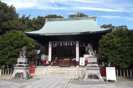 Shiroyama Hachimangu di Nagoya
