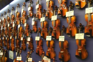 Musical Instrument Shopping Street