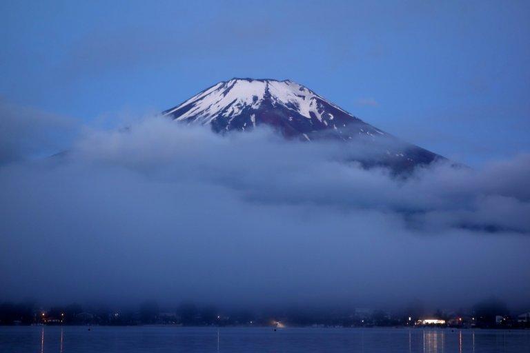 Mont Fuji & Yamanakako Avant l'Aube