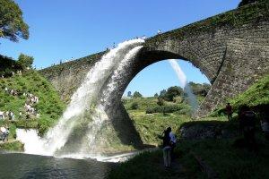 The Tsujun Bridge aqueduct