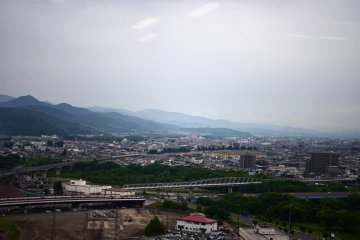 Morioka City From Atop Malios