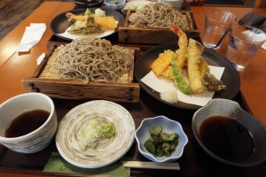 Soba Lunch near Monkey Hot Springs Nagano