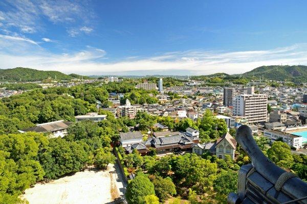 View of Tomonoura, Fukuyama