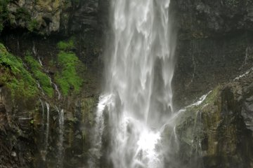 Kegon Falls in Nikko National Park
