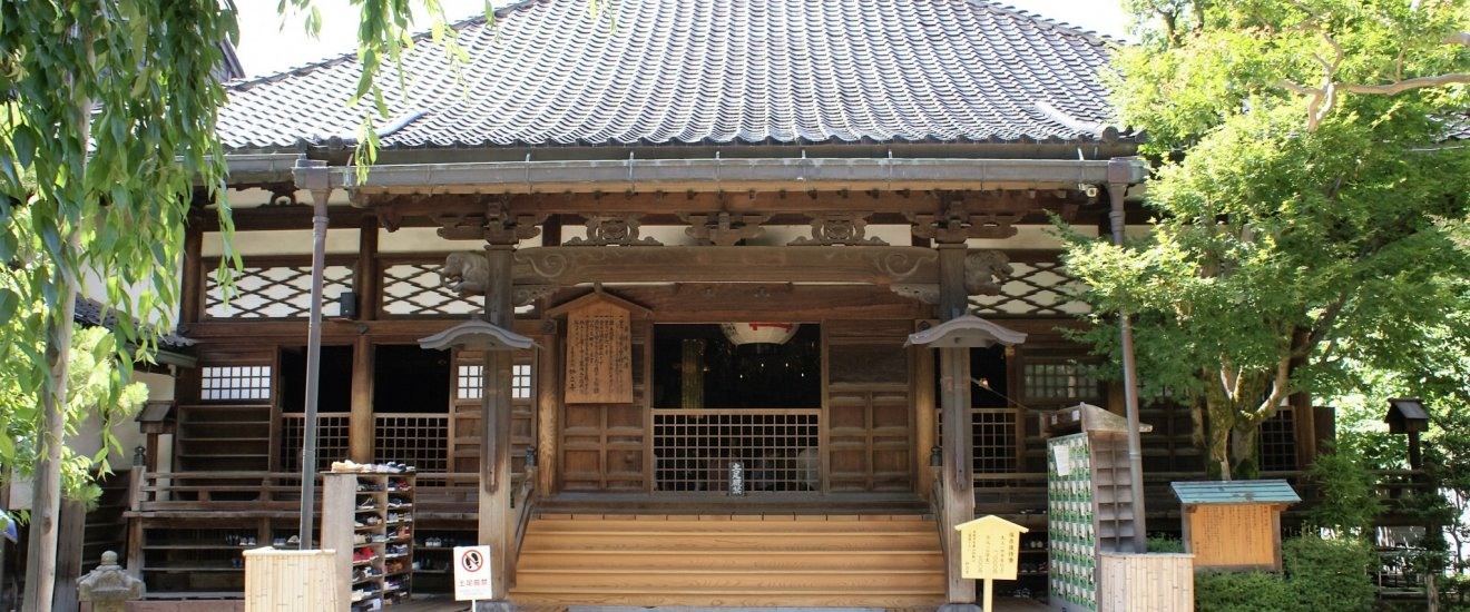 The exterior of Myoryu-ji