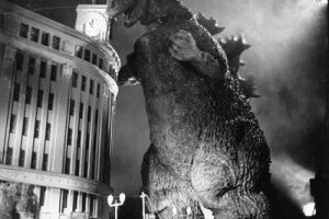 Godzilla and Wako Department Store, 1954