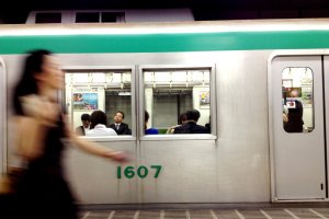 The Kyoto subway can be less crowded than the buses from Kyoto station to places like Nijo and Gion