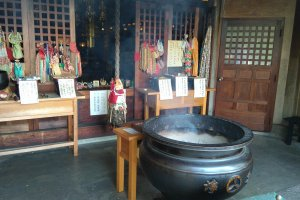Holy Smoke At the Main Shrine