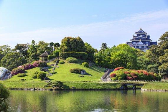Visit okayama for Jardin korakuen