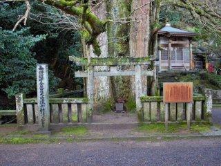 A small shrine beside the main hall