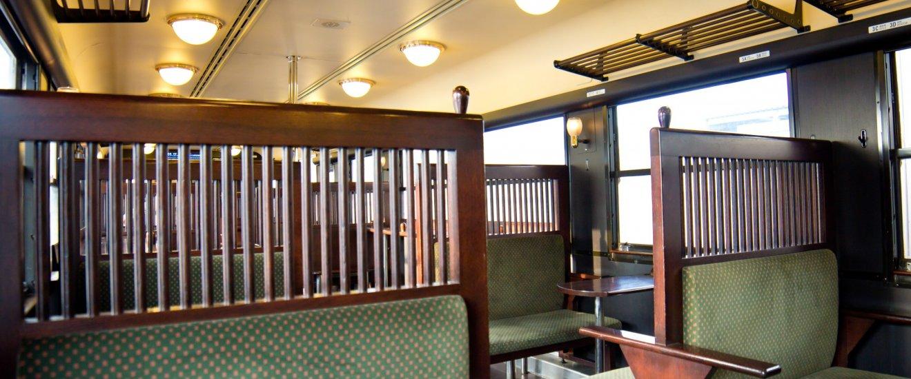 The interior of the Isaburo Shinpei