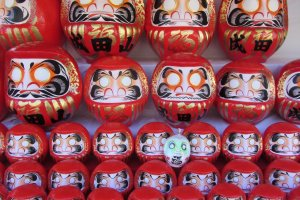 Daruma Dolls will help you keep your New Year's Resolution