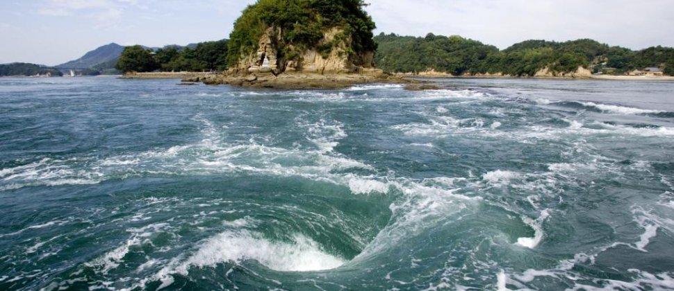 ล่องเรือไปตามกระแสน้ำในทะเลสาบเซโตะ