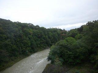 Taken from the bridge