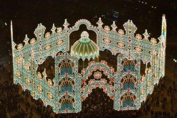 Festival Cahaya Kobe Luminarie