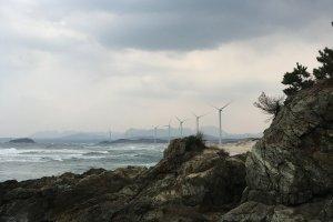 Năng lượng sạch trên bờ biển