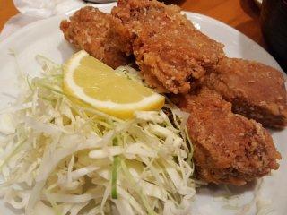 Tuna Karaage (Deep fried Tuna)