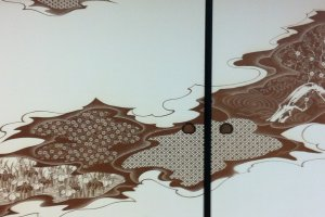 Katagami screen