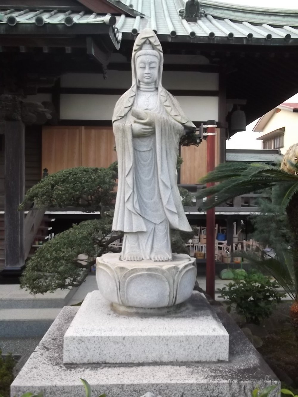 A statue in the grounds
