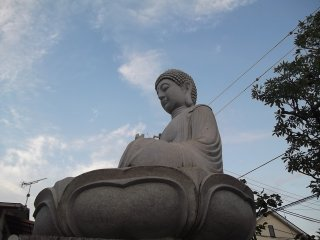Another of the Buddhist statues