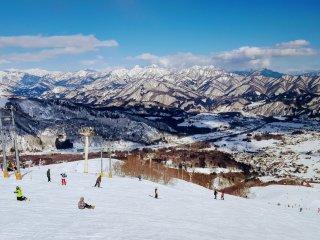 Looking over the Hakuba Valley.