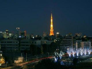 La tour de Tokyo depuis Roppongi Hill
