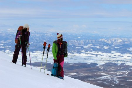 Women's Skimo Project au Japon