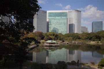Le Jardin Hama-Rikyû