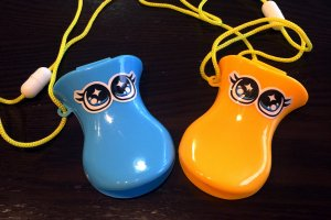 Cute duck-shaped whistles that I brought back home