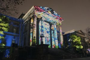 Nakanoshima Library Projection Mapping