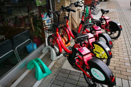 มาเช่าจักรยานที่ฮิโรชิม่ากันเถอะ