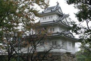 Tsu Castle in the Prefectures' capital, Tsu