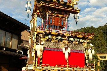 Takayama's Beautiful Fall Festival
