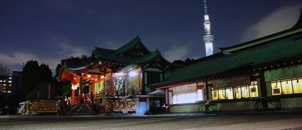 亀戸天神社(かめいどてんじんしゃ)