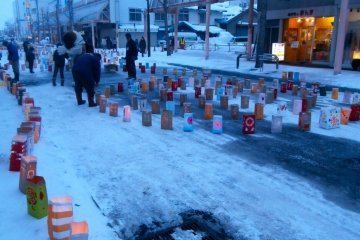 Takikawa Lantern Festival