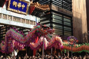 Chinese New Year Parade in Yokohama