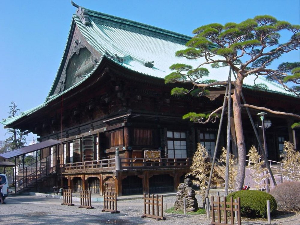 Gokokuji Temple in Bunkyo ward
